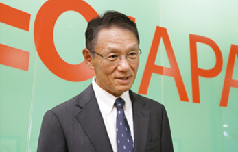 Message from Akinori Saito, President Growth Strategy